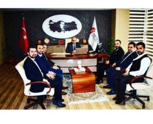 KAGEGİK Vergi Dairesi Başkanı Ziyareti