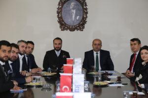 Kahramanmaraş Vergi Dairesi Başkanı Sn. İbrahim Kaya KAGEGİK Nisan Ayı Meclis Toplantısına konuk oldu.